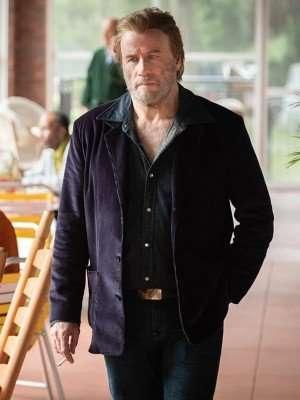 PI Carson Phillips The Poison Rose John Travolta Blazer Jacket