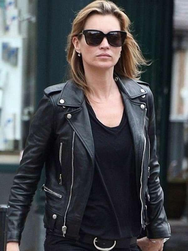 Kate Moss Black Jacket