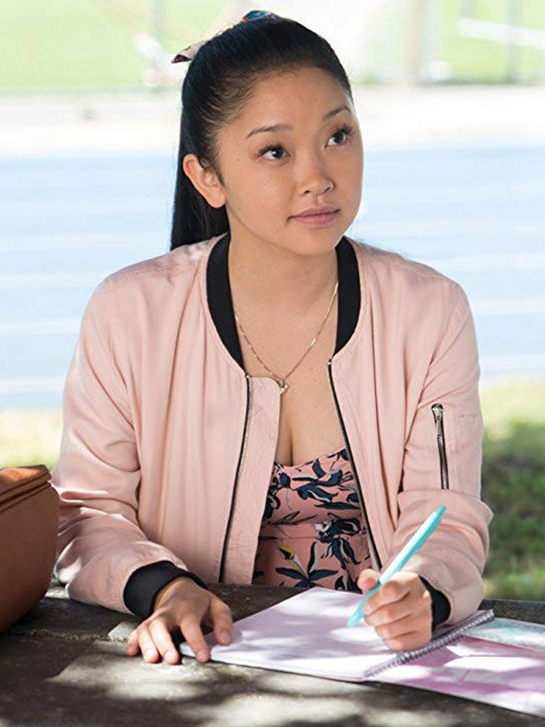 Lara Jean To All the Boys I've Loved Before Leather Jacket