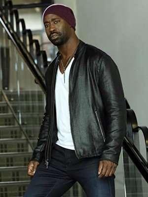 Amenadiel Lucifer D.B. Woodside Leather Jacket