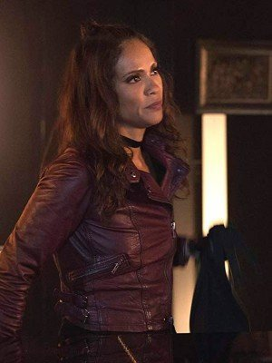 Lesley-Ann Brandt Mazikeen Lucifer Leather Jacket