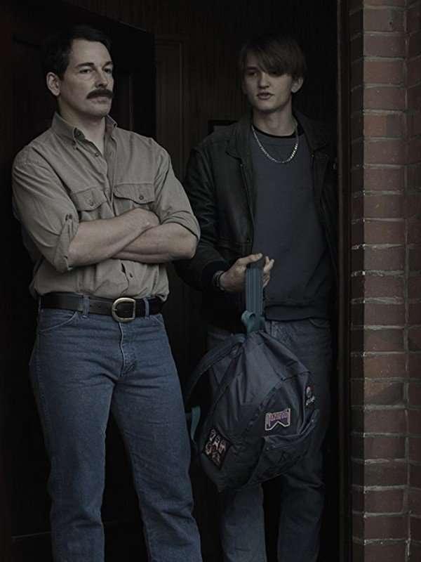 Ludger Bökelmann TV Series Dark Leather Jacket