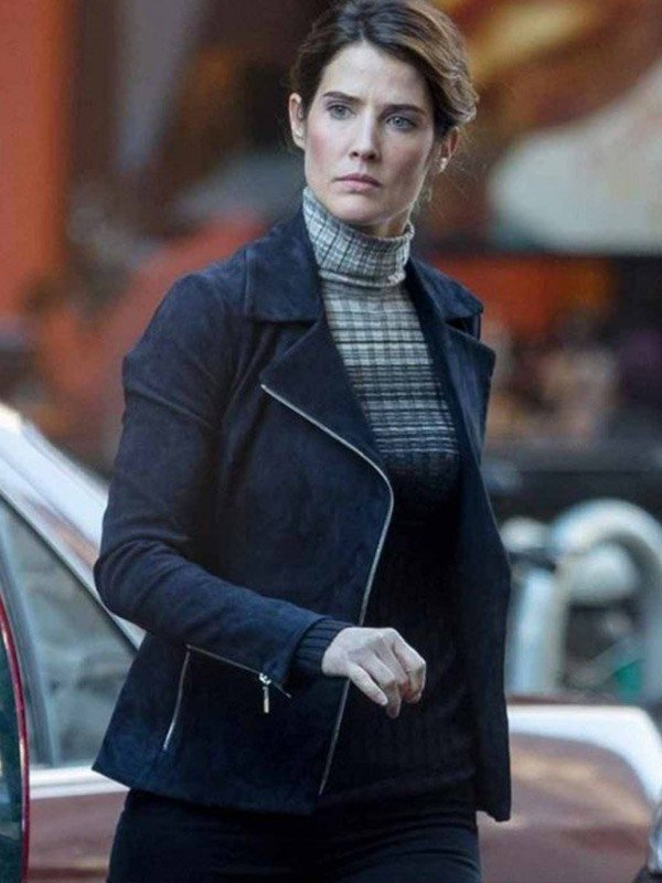 Maria Hill Spiderman Far from Home Black Jacket