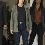 Maya Travis Green Cotton Jacket