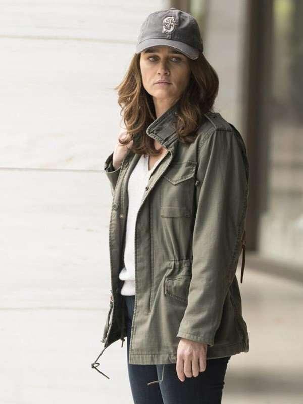 Maya Travis Green Jacket