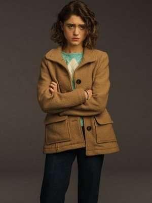 Nancy Wheeler Stranger Things Brown Jacket
