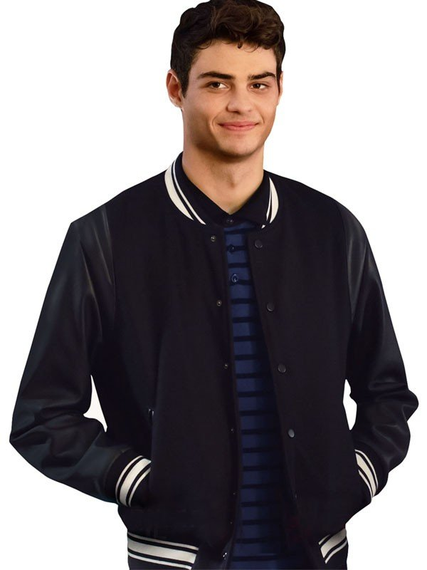 Noah Centineo The Perfect Date Letterman Jacket