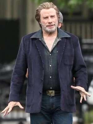 The Poison Rose John Travolta Purple Blazer Jacket