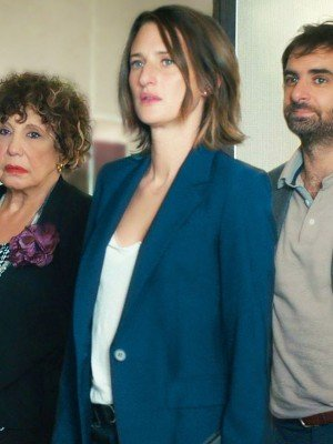 Call My Agent Camille Cottin Blue Coat