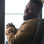 Ricky Jerret TV Series Ballers Beige Leather Jacket