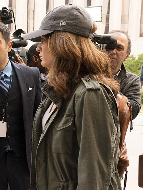 Robin Tunney The Fix Green Cotton Jacket