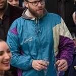Seth Rogen Long Shot Fred Flarsky Blue Jacket