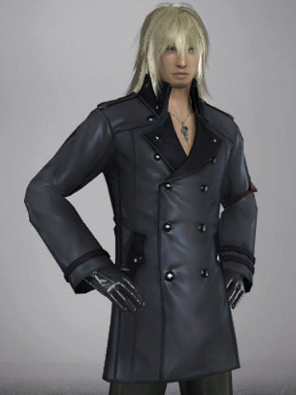 Snow Villiers Lightning Returns Final Fantasy 13 Leather Coat