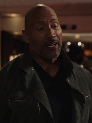 Ballers Dwayne Johnson Suede Leather Jacket