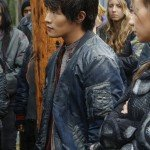 TV Series The 100 Monty Green Leather Bomber Jacket
