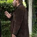 The Poison Rose John Travolta Brown Jacket