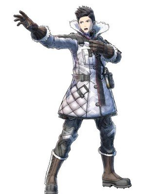 PS4 Valkyria Chronicles Leather Coat