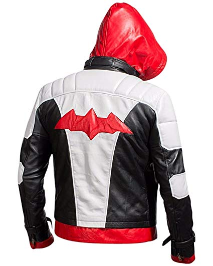 Arkham Knight Bat Logo Jacket