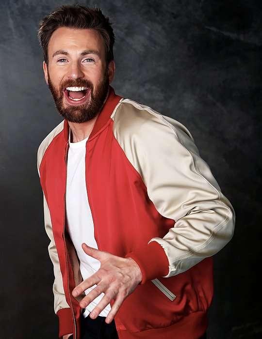 Avengers Endgame Premiere Chris Evans Bomber Jacket