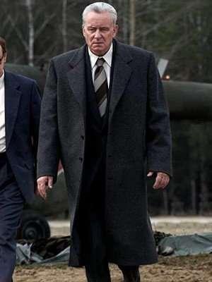 Chernobyl Stellan Skarsgård Wool Coat