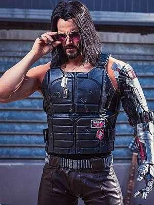 Cyberpunk 2077 Johnny Silverhand Vest