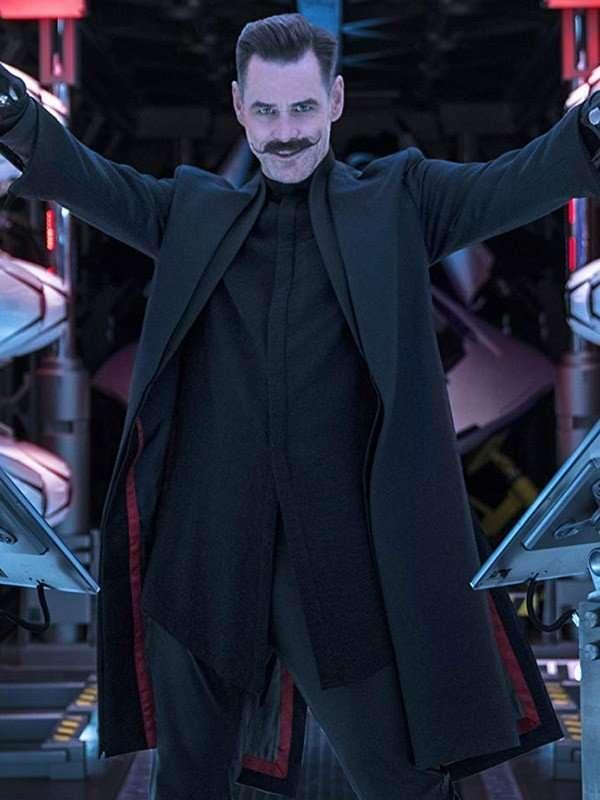 Doctor Eggman Black Coat