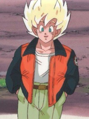 Son Goku Dragon Ball Z Orange Jacket
