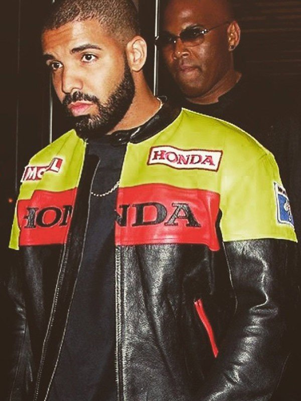 Honda Leather Jacket Drake