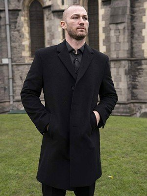 Ryan Booth Quantico Black Coat