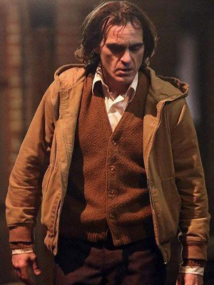Joker Joaquin Phoenix Hooded Cotton Jacket