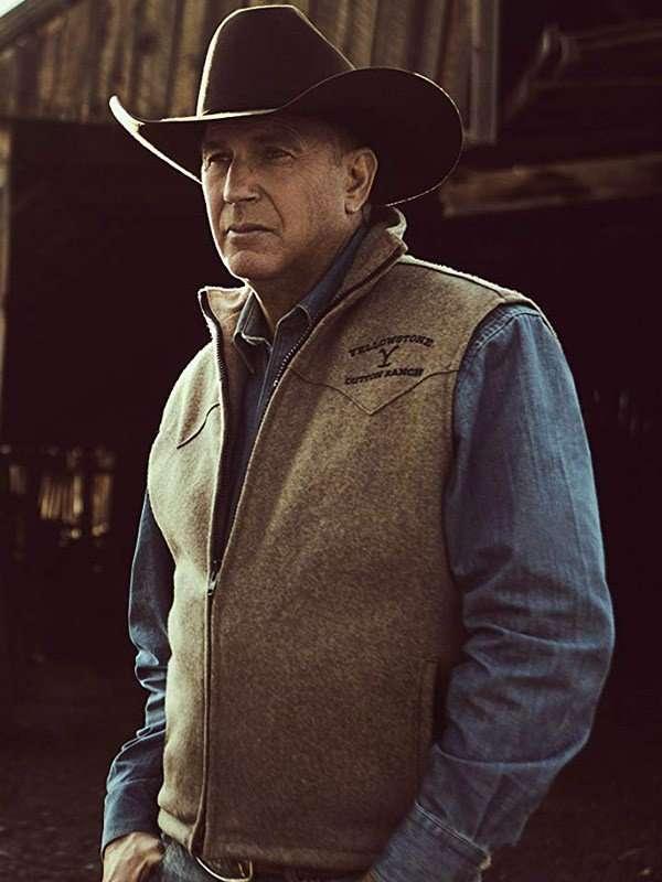 John Dutton Cotton Vest