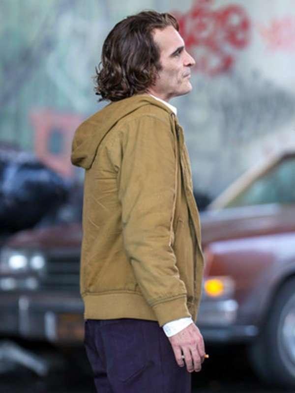 Joker Brown Hooded Jacket