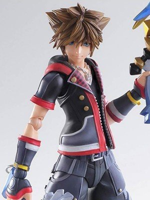 Protagonist Kingdom Hearts III Sora Black Leather Jacket