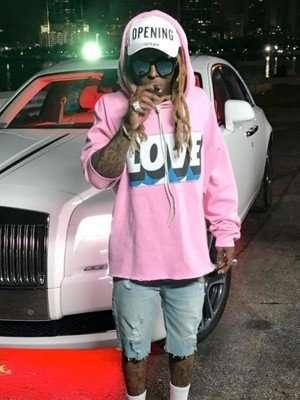 Lil Wayne Corazon Music Video Hoodie