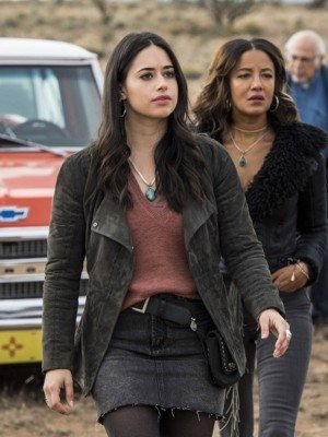 Jeanine Mason Roswell New Mexico Suede Leather Jacket