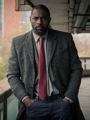 Idris Elba Luther Wool Coat