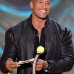 MTV 2015 Movie Award Dwayne Johnson Leather Jacket