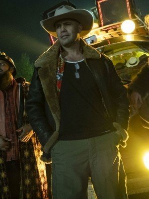 Billy Zane Curfew Shearling Leather Jacket