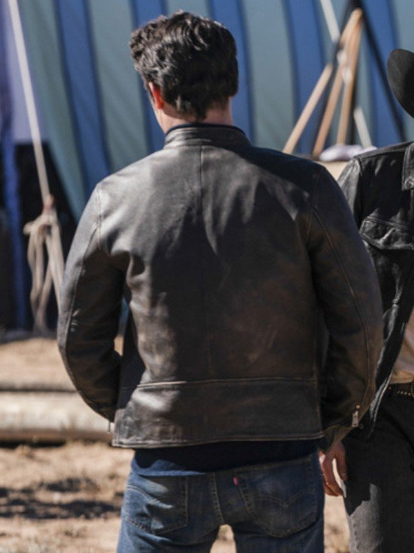 Nathan Parsons Roswell Black Jacket