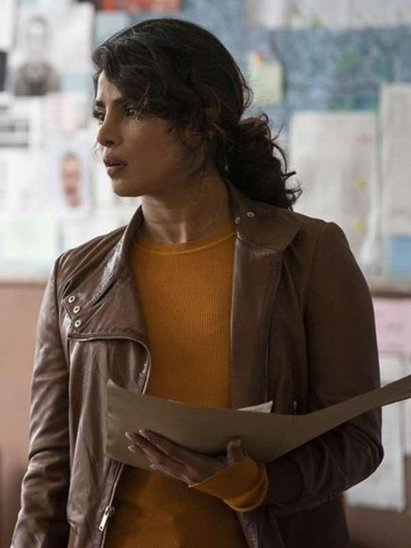 Priyanka Chopra Quantico Alex Parrish Leather Jacket