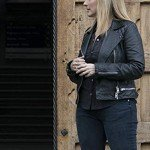 Quantico Marlee Matlin Leather Jacket