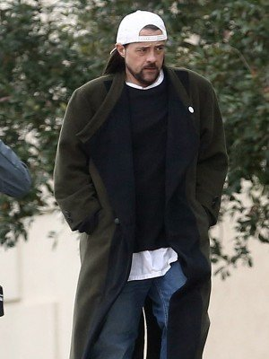 Kevin Smith Jay and Silent Bob Strike Back Wool Coat