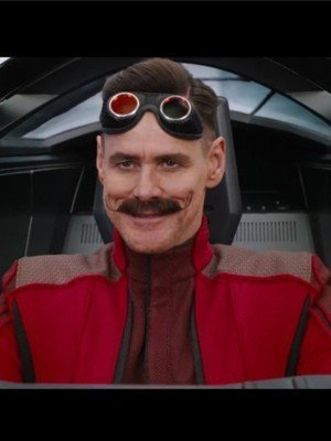 Jim Carrey Sonic the Hedgehog Red Jacket
