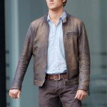TV Series MacGyver Angus MacGyver Brown Leather Jacket