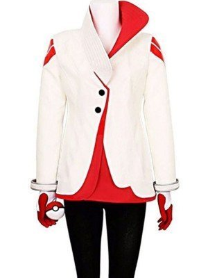 Pokémon Go Team Valor Candela White Jacket