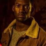 Tv series Curfew Malachi Krby Shearling Collar Corduroy Jacket