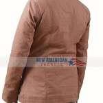 Yellowstone Brown Cotton Jacket