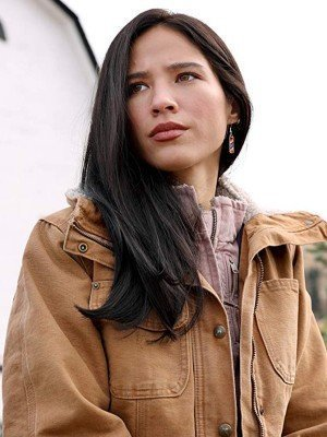 Yellowstone Kelsey Asbille Brown Cotton Jacket
