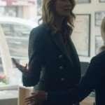 Big Little lies Laura Dern Black Leather Blazer