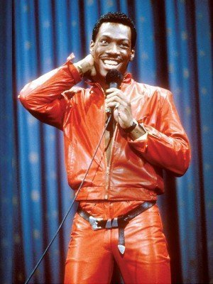 Eddie Murphy Red Leather Jacket
